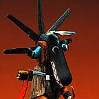 nata-aska or black ogre kachina