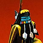 long-haired kachina